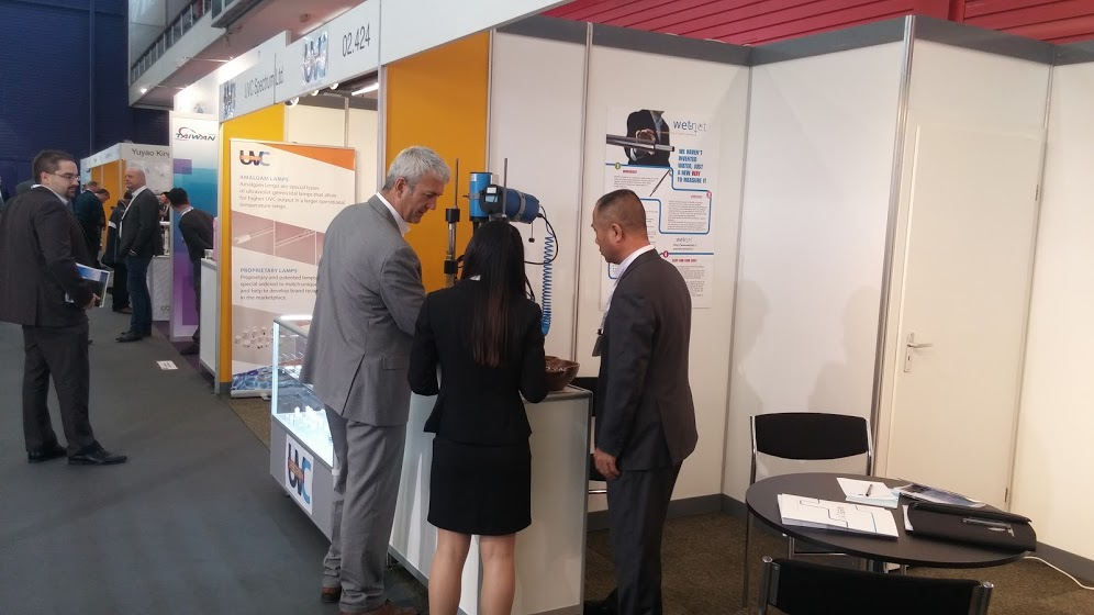 WETNET Stand at Aquatech Amsterdam
